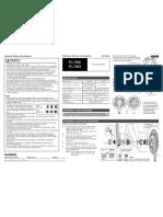 shimano 7800 bottom bracket manual