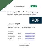 DSS 12 S4 03_System Test Plan