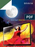 Sony Bravia Catalogue