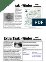 Winterkaart 1 - Elfstedentocht