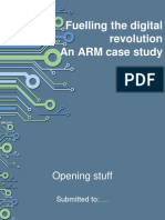 An ARM Case Study