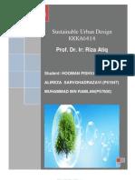 sustainable urban design of kajang
