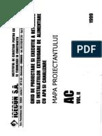 Mapa Proiectantului AC Vol. II Alimentare Cu Apa Si Canaliz~