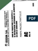Mapa Proiectantului AC Vol. III Alimentare Cu Apa Si Canali~