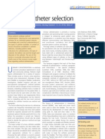 Urethral Catheter Selection