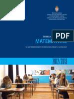 Zbirka zadataka za zavrsni ispit iz matematike 2013