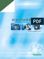 AC Fans Catalogue