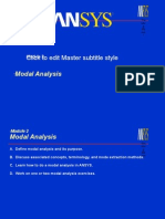 ANSYS Modal Analysis-1