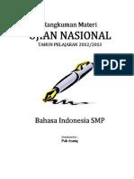 Rangkuman Materi UN Bahasa Indonesia SMP.pdf