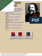 Marx's Conflict with Bakunin