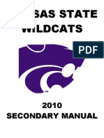 2010 Kansas State University Secondary Manual