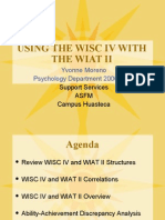 USING THE WISC IV AND THE WIAT II.ppt