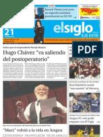 Edicion Lunes 21-01-2013 Vic