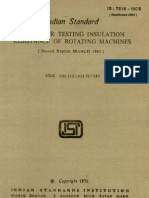 Guide for Testing Insulation Resistance of Rotating Machine