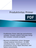 Produktivitas Primer