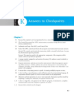Checkpoint Answers