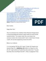 Plagiarism by Goldman Sachs Analyst