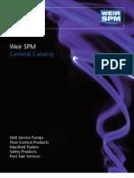 Weir Spm General Catalog (0509) (1)