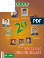 Majalah Tamaddun Tamzis Edisi Sept. - Okt. 2012