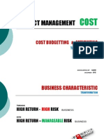 COST PROJECT MANAGEMENT [ COST TO PRICE BUILDING BLOCKS]