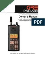 GRE PSR-500v1.3 Manual