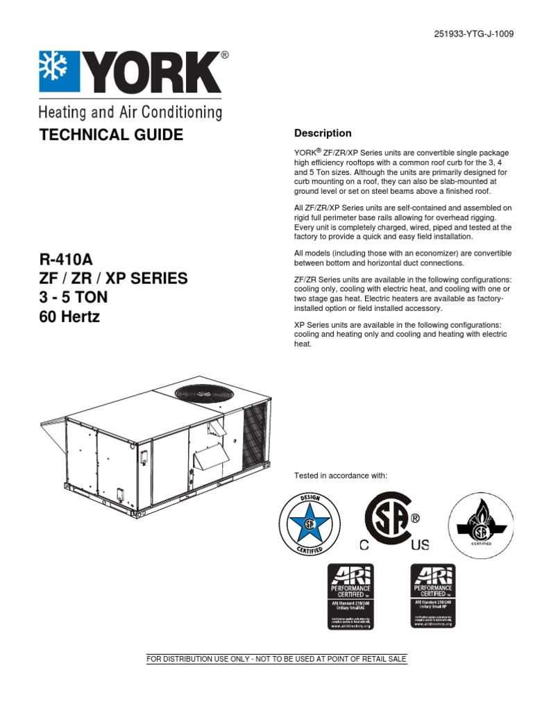 York Catalogue | Hvac | Electric Heating