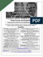 National Capacity Building Symposium II Panelists Page 0