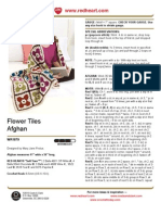 Flower Tiles Afghan