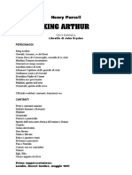 King Arthur Opera By Henry Purcell