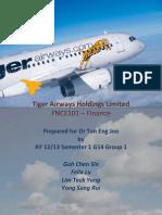 Financial Analysis of Tiger Airways 2012