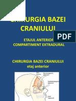 Chirurgia Bazei Craniului Rezidenti Neurochir