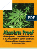 Absolute Proof of Marijuana's Critical Medical Value in the Treatment of Conn's Syndrome