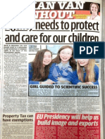 Irish Daily Mirror Jillian van Turnhout Comment 21 January 2013