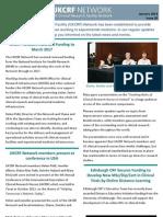UKCRF Network Newsletter Jan13