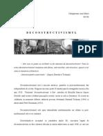 deconstructiismul