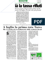 Senatore Antonio d'Alì su ItaliaOggi - nuove scadenze