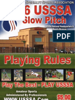 USSSA Playing Rules