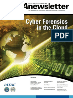 Cyber forensics in the cloud