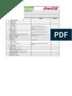 Equipment data sheet