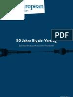 50 Jahre Elysée-Vertrag