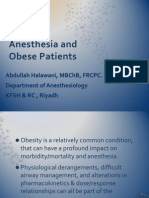 4-Anesthesia and Obese Patients[1]
