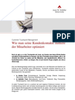eBook Umsetzung Touchpoint Management