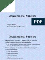 Organizational Behaviour Chapter 12 - Organizational Structure