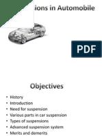 Suspension in Automobile