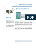 How to Use Financial Statements BIZ