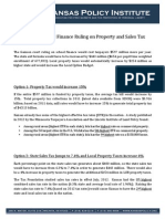 Gannon Impact on Sales and Property Tax