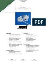 AbsoluteEncoders OCD SSI Datasheet DataContent