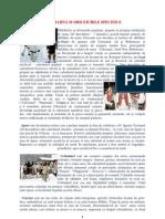 SÃRBÃTORILE DE IARNÃ SI OBICEIURILE SPECIFICE