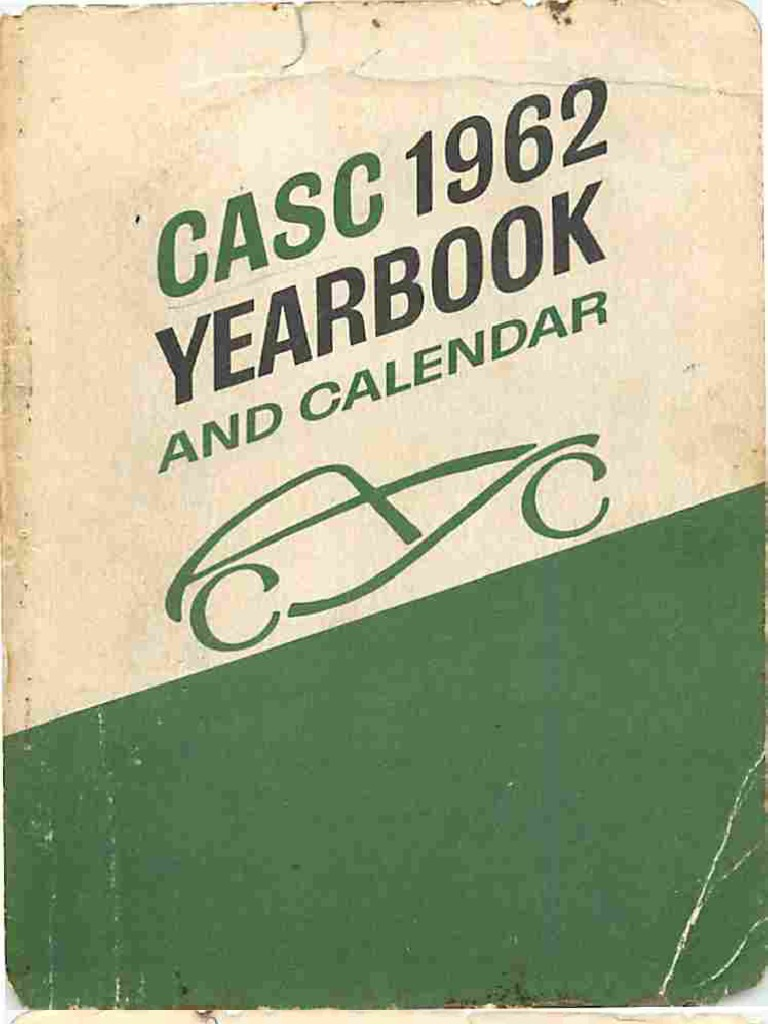 CASC 1962 Yearbook | Competition | Canada