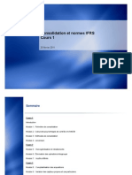 Consolidation et normes IFRS